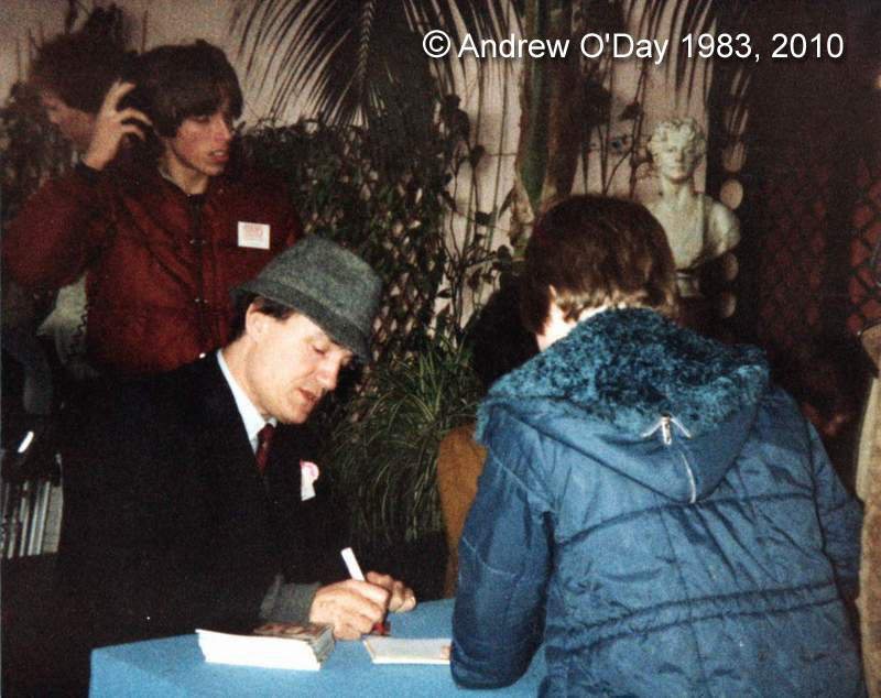 Longleat 1983 - Andrew O'Day and Anthony Ainley