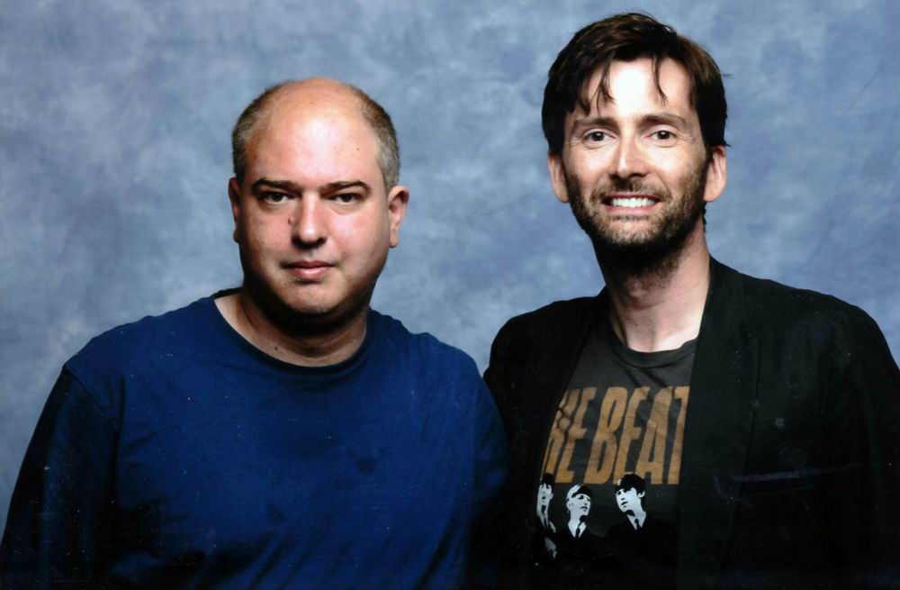 Andrew O'Day and David Tennant