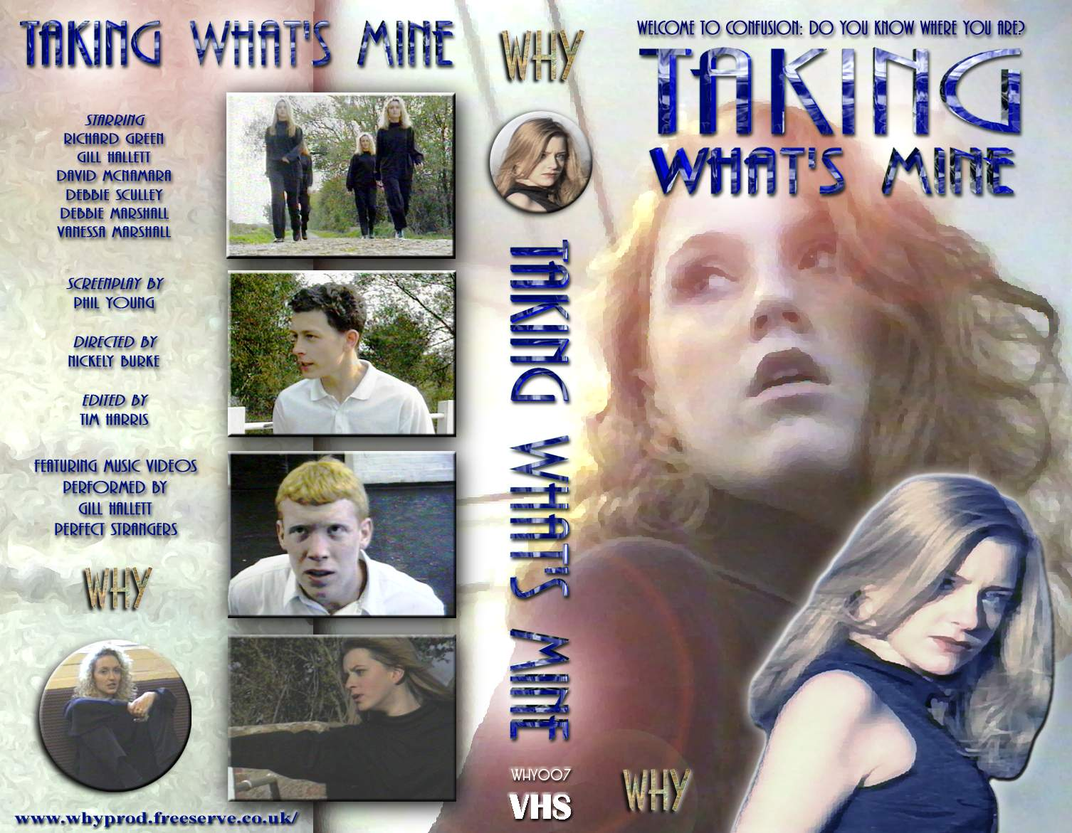 Taking What's Mine videocover V2 (produced some time later)